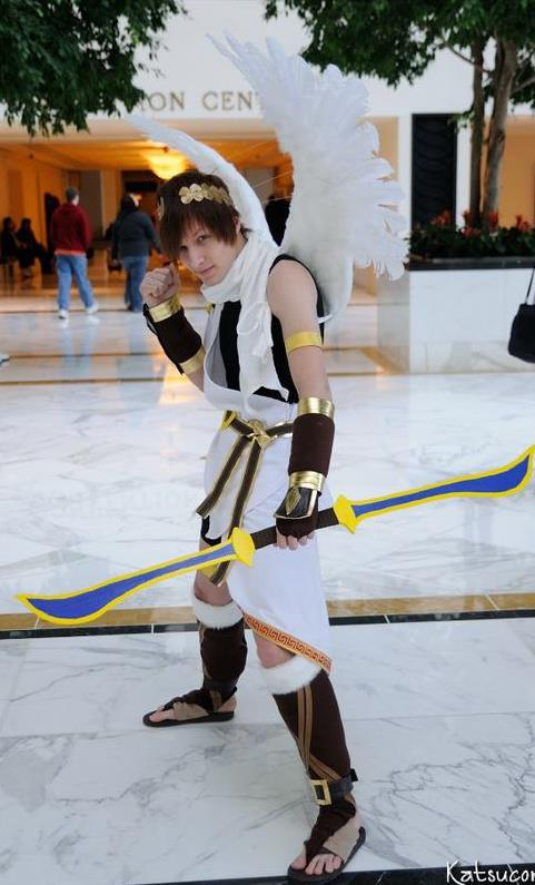 Otaku House Cosplay Idol Jamie Sykes Pit From Kid Icarus