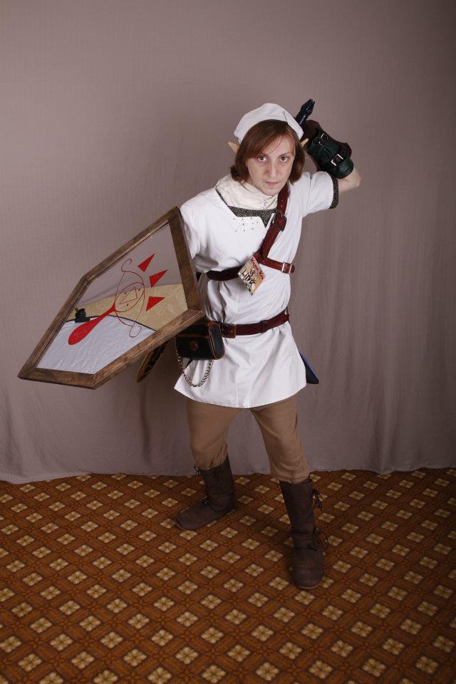 Otaku House Cosplay Idol » Eric warden: White tunic Link from Legend of Zelda