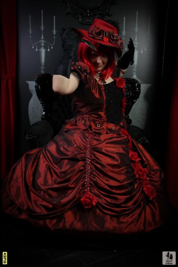 Madameredd Review Kiss Brush On Gel Nail Kit: Otaku House Cosplay Idol » Corycaly: Madame Red From Black