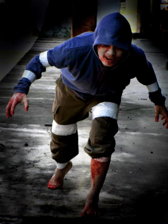 Hunter left 4 dead cosplay