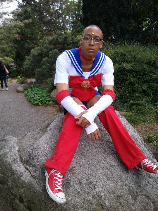 genderbend cosplay moon Sailor