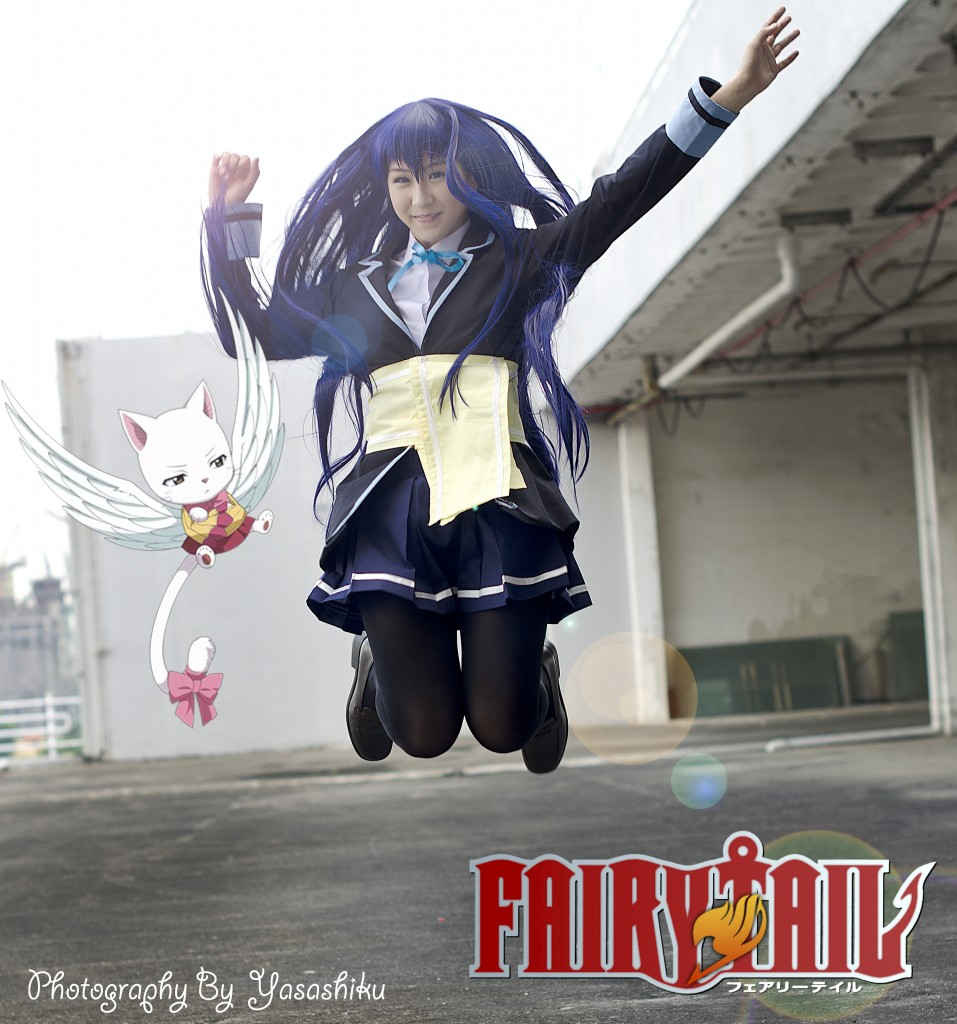Otaku House Cosplay Idol Warabe Wendy Marvell From Fairy Tail