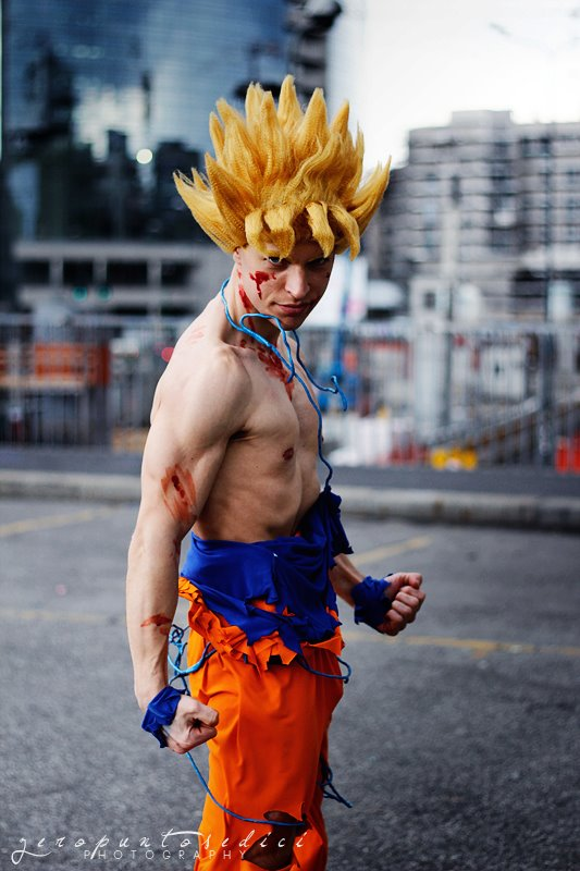 Best dragon ball z cosplay