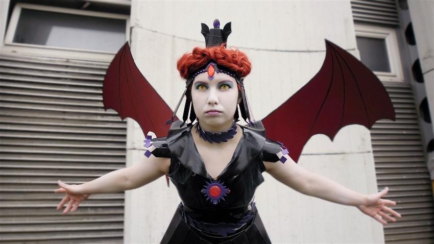 Otaku House Cosplay Idol » Gabryel Mantis: Sailor Galaxia from