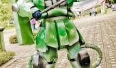 Zaku 2 ground suit Ronnel Capute
