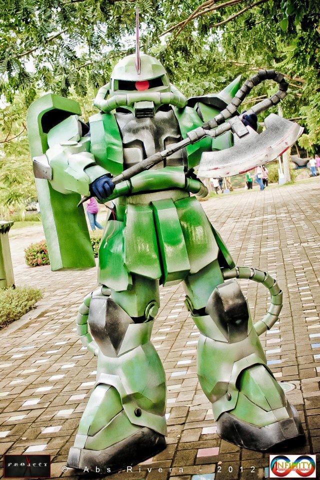 Otaku House Cosplay Idol 187 Ronnel Capute Zaku 2 From
