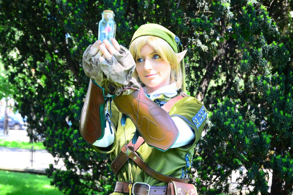 Otaku house cosplay idol tatasenko link from the for Housse zelda