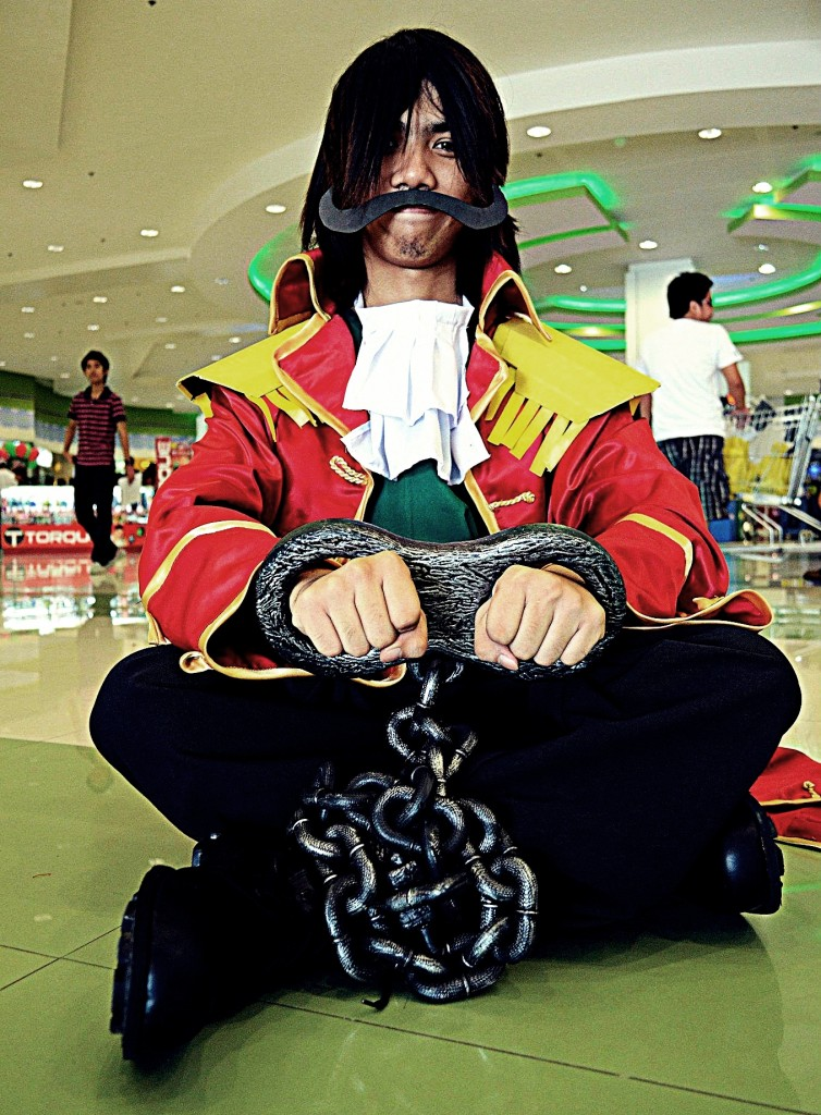 otaku house cosplay idol cedie magaling gol d roger from one piece