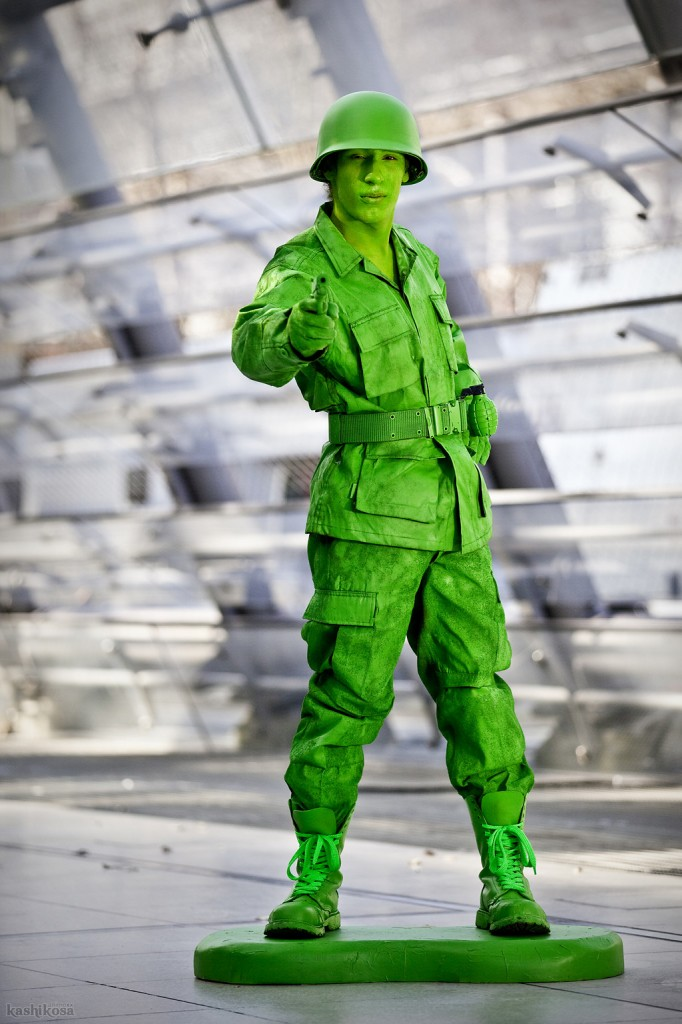 Otaku House Cosplay Idol 187 Ryu X3 Green Toy Soldier From