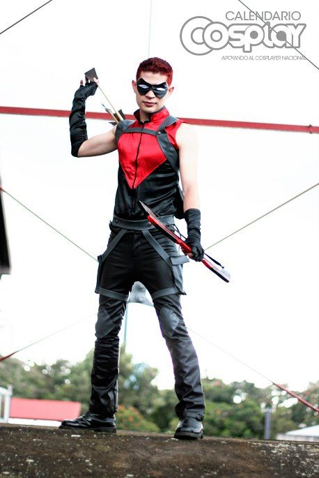 Otaku House Cosplay Idol » Mauricio Barrantes : Red Arrow ...