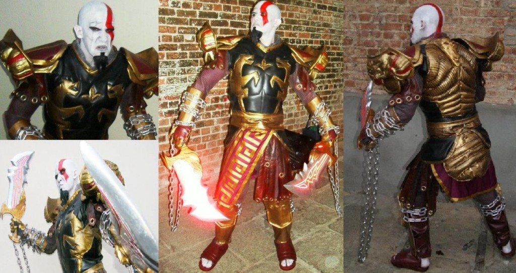 Kratos cosplayer from god of war knows how to deepthroat - 4 1