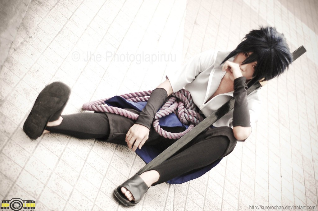 Otaku House Cosplay Idol Mark Edric Calamasa Uchiha Sasuke From