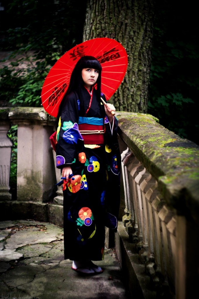Otaku House Cosplay Idol » Karen Arana: Enma Ai from Hell