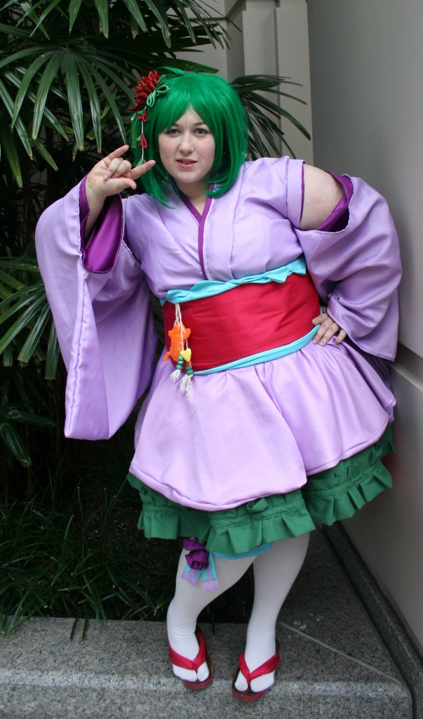 otaku house cosplay idol  u00bb blue eyed fairy steph n   ranka lee from macross frontier