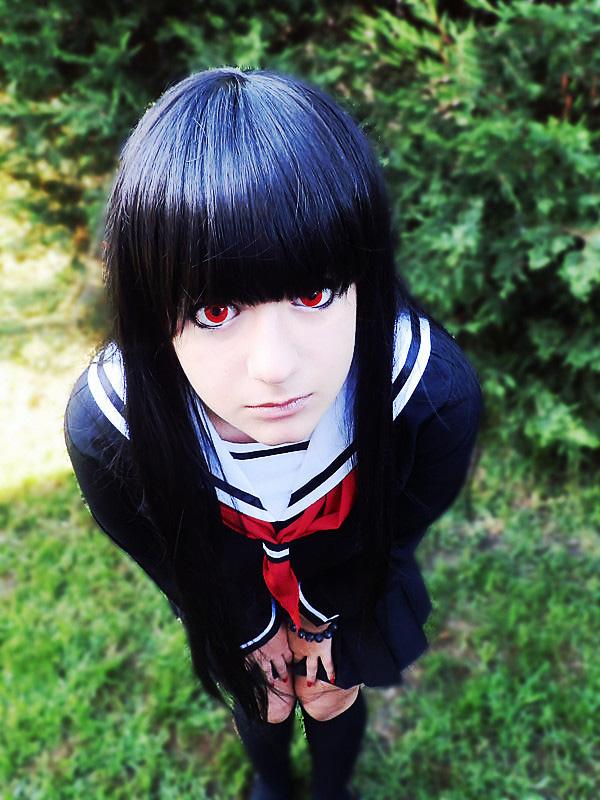 Otaku House Cosplay Idol » ZArie: Enma Ai from Hell girl