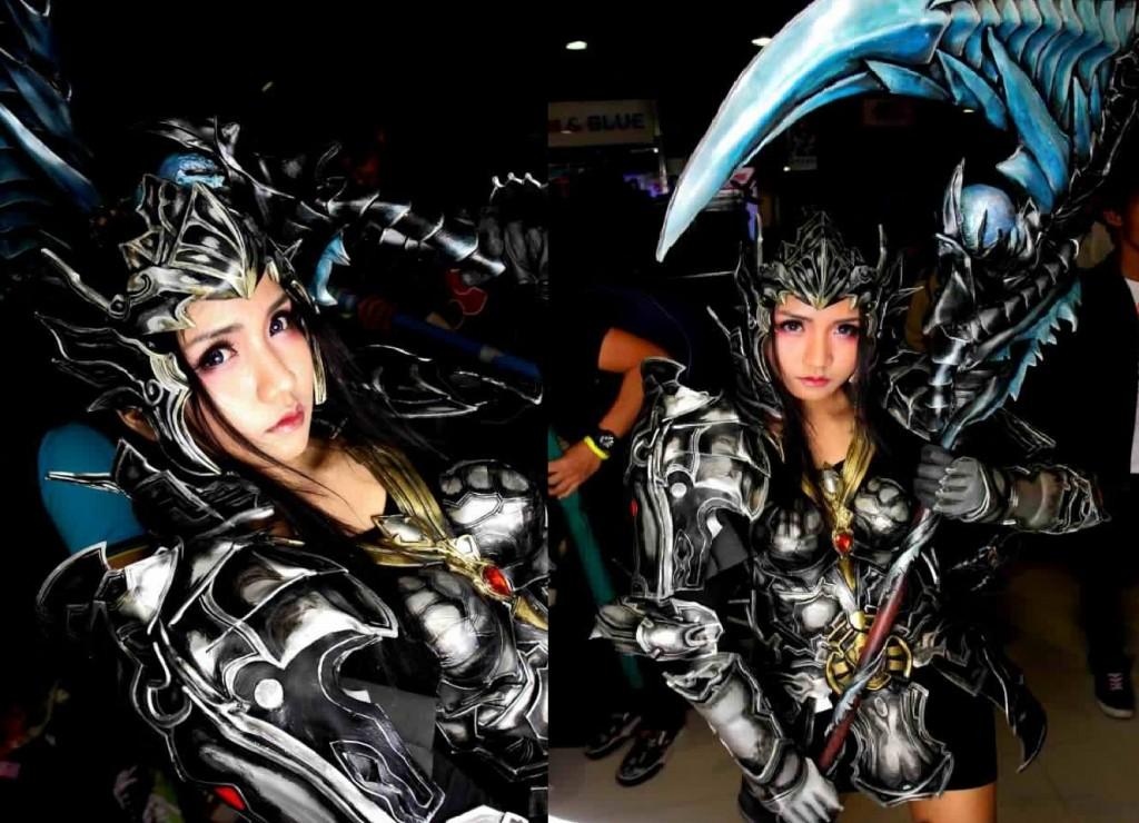 otaku house cosplay idol eri aki female elyos gladiator