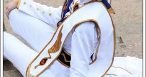 Shihouin Yoruichi Cosplay on Raycel   Lelouch Vi Britannia  Emperor  From Code Geass