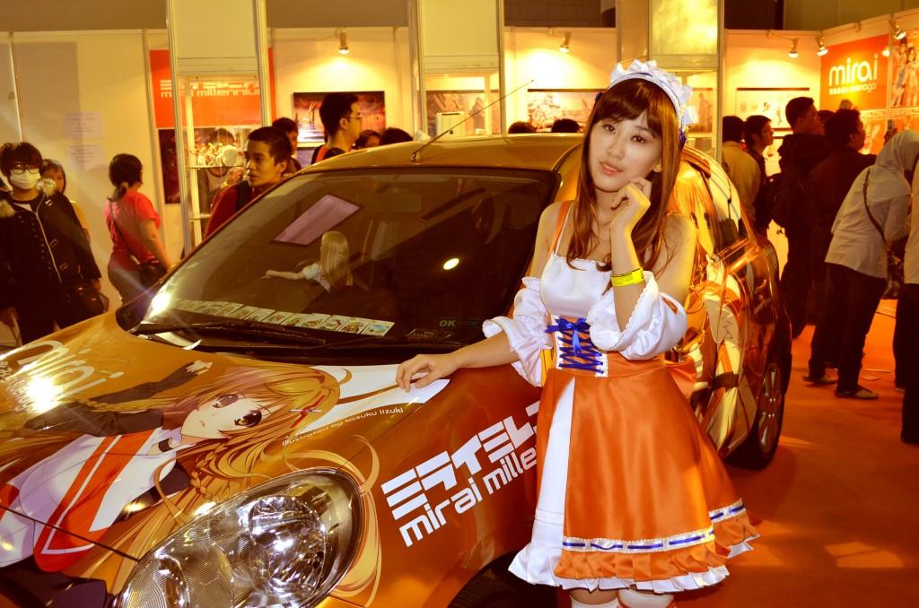 Otaku House Cosplay Idol » Larissa : Mirai Suenaga from