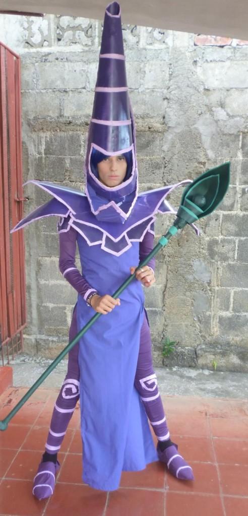Yugioh dark magician costume