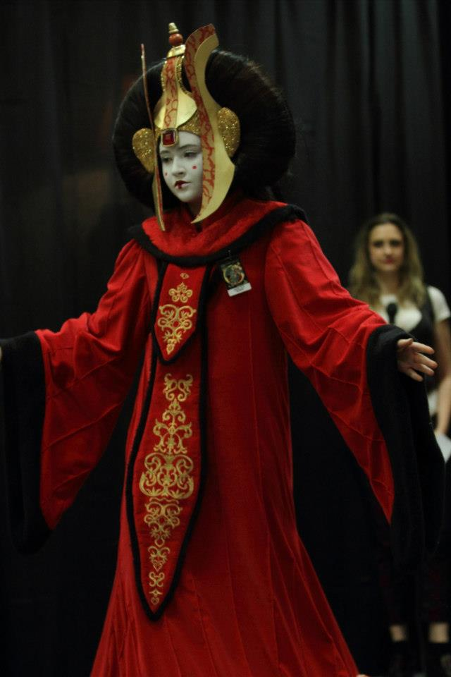 Otaku house cosplay idol payton schmall queen amidala - Princesse amidala star wars ...