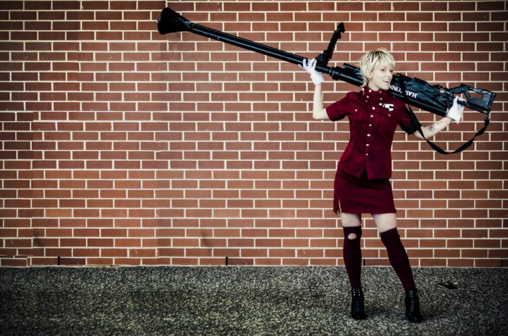 Otaku House Cosplay Idol � Banshee: Seras Victoria from Hellsing