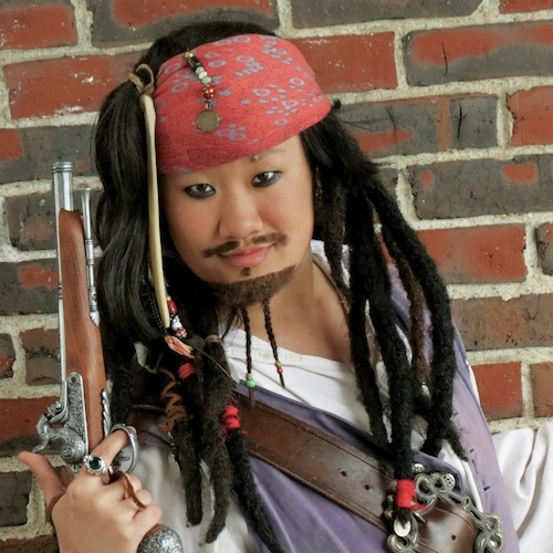 How to Cosplay As Captain Jack Sparrow