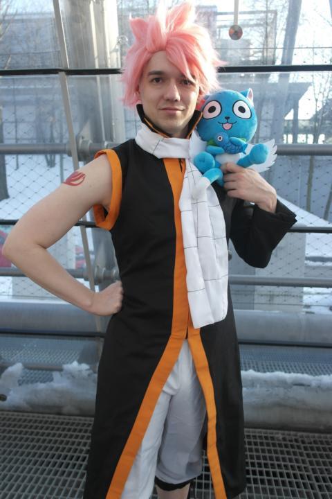 Otaku House Cosplay Idol Oliver Prakelt Natsu Dragneel From Fairy