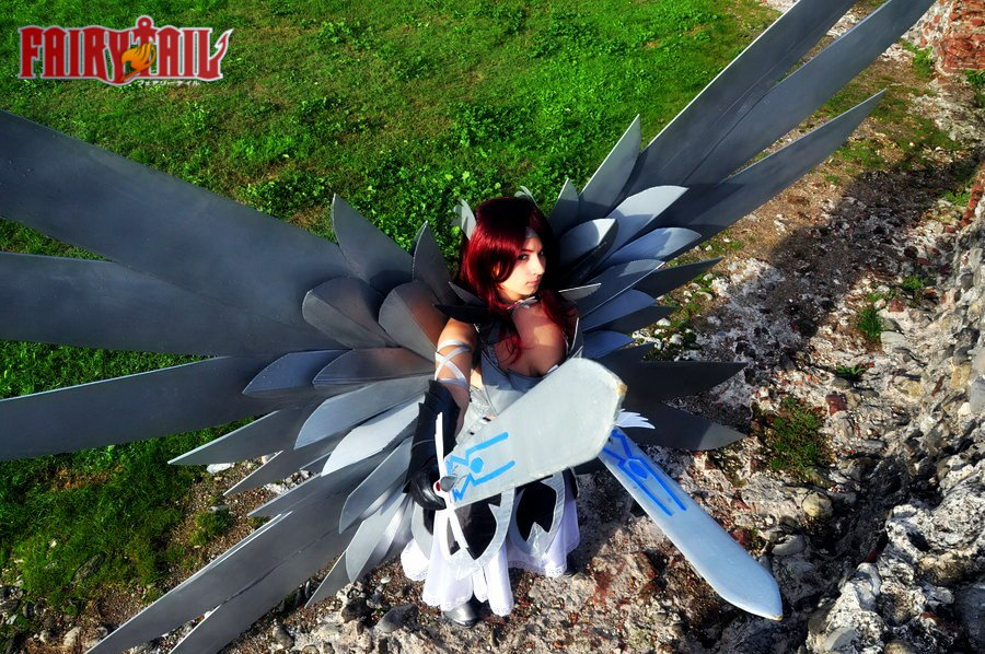 Otaku House Cosplay Idol Martina Barioglio Erza Scarlet From