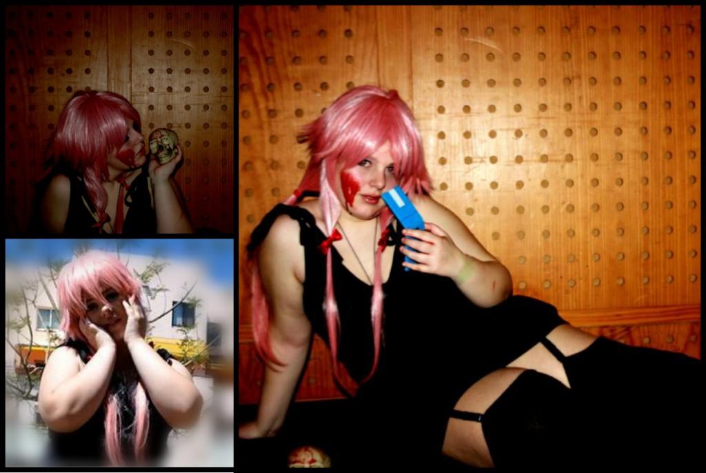 Miss Kath Gasai Yuno From Mirai Nikki Cosplay
