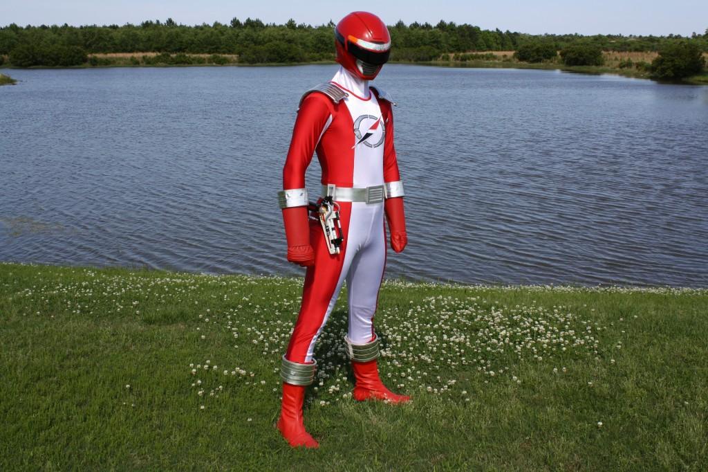 Power Rangers Operation Overdrive Red Ranger