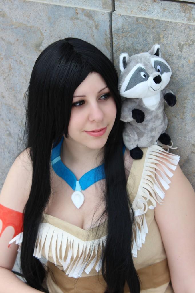 otaku house cosplay idol 187 akemi pocahontas from disney