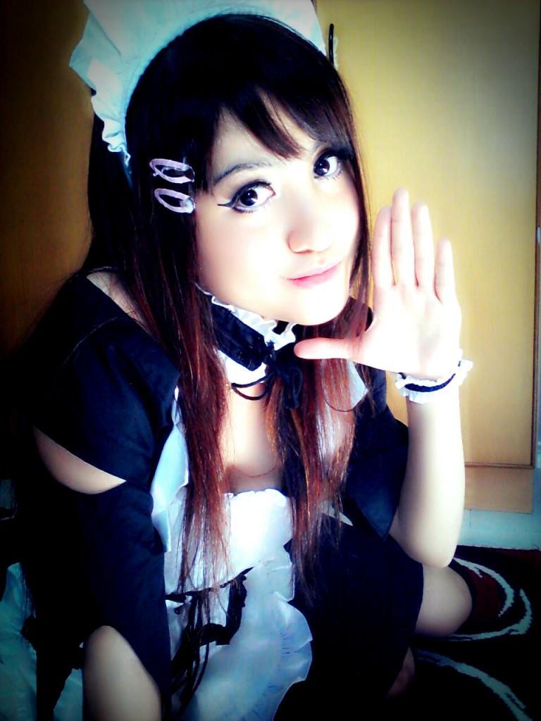 maid sama cosplay alodia - photo #42