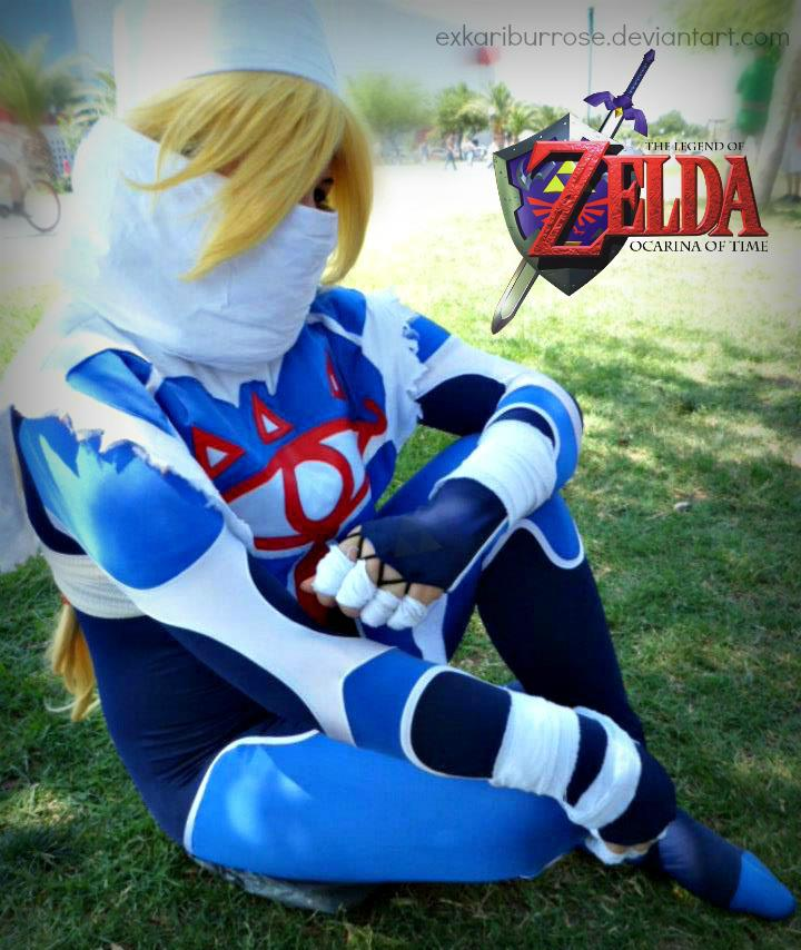 Karina Garza Sheik The Legend OF Zelda Ocarina Of Time Cosplay : legend of zelda sheik costume  - Germanpascual.Com