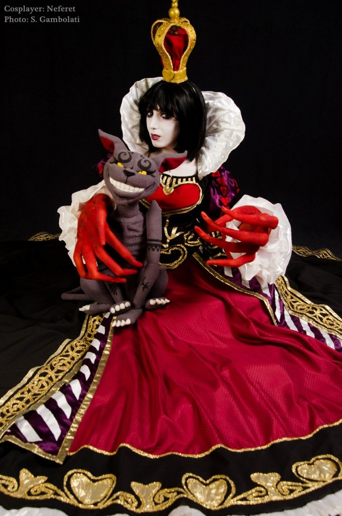 alice madness returns red queen costume