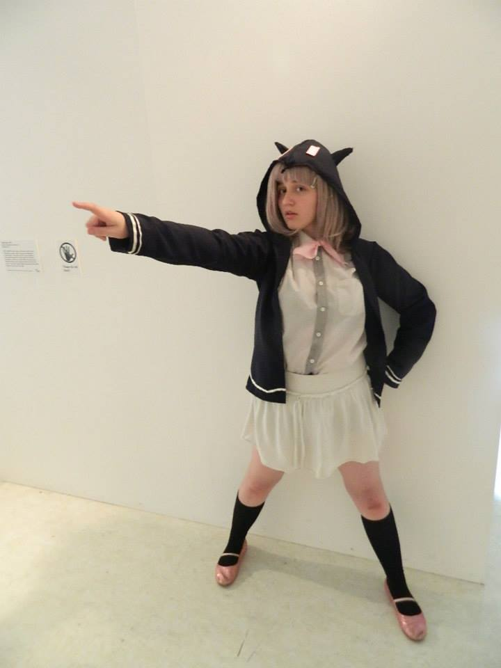 chiaki dangan ronpa cosplay - photo #20