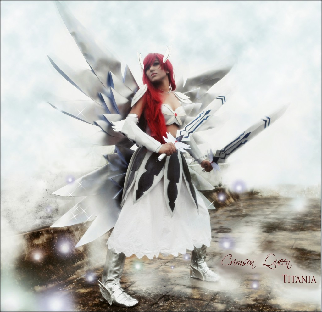 Otaku House Cosplay Idol Akanksha Sachan Erza Scarlet From Fairy