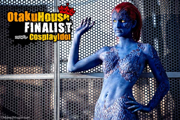 1-otaku-house-cosplay-idol-europe-lisa-tavella-mystique-x-men
