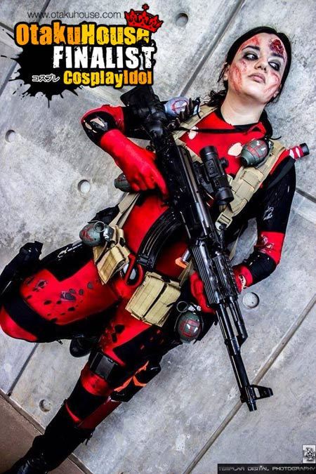 2-otaku-house-cosplay-idol-north-america-finals-annaka-Battle-Damage-DeadPool