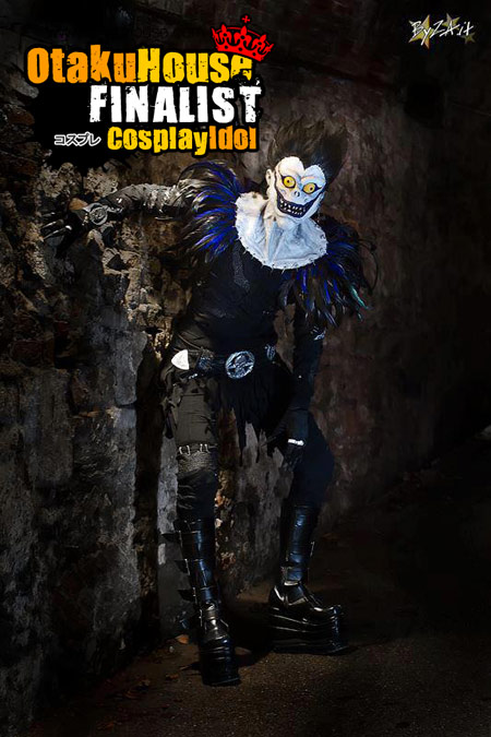 3-otaku-house-cosplay-idol-europe-lisa-tavella-ryuk-death-note