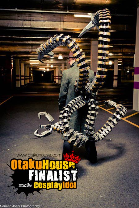 3-otaku-house-cosplay-idol-europe-spider-trooper-doctor-octopus-spiderman